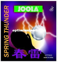 Wholesale Joola Table Tennis Rubbers - Hot- 2PCS 1 LOT- Joola spring economics at loyola thurder Table Tennis Rubber SPRING THURDER pingpang rubber with sponge