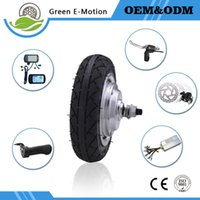 Wholesale Ebike 24v - high speed electric wheel motor 8inch 24V 200w250w300w350w ebike hub motor kit portable electric bike mobile robot motor