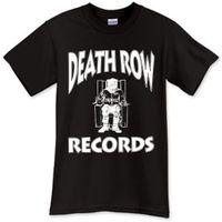 Wholesale Death Shirts - 2017 New Men'S T Shirt New Death Row Records Black T-Shirt TShirt Tee Shirt Size S M L XL 2XL 3XL