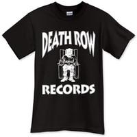 camisas de remo venda por atacado-2017 Nova Camisa dos homens T Nova Fila da Morte Registros Preto T-Shirt Camiseta Camiseta Tamanho S M L XL 2XL 3XL