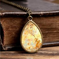 Wholesale Wholesaler Photo Jewelry - 2017 New The Little Prince Necklace Tear Drop Pendant Jewelry Fairy Tale Pendants Vintage Photo Necklaces Gifts Girl