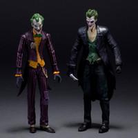 """Wholesale Batman Arkham - DC Batman The Joker Arkham Origins PVC Action Figure Collectible Model Toys 7"""" 18CM KT107"""
