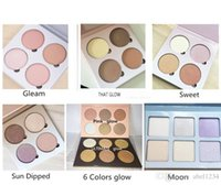 Wholesale Cosmetic Whitening Kit - 2016 Pink Glow Kit ULTIMATE GLOW kit Makeup Face Blush Powder Blusher Palette Cosmetic Gleam That Glow Sun Dipped Sweets ULTIMATE GLOW Moon