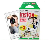 Wholesale Instax Camera Film - High quality Instax White Film Intax For Mini 90 8 25 7S 50s Polaroid Instant Camera in stock