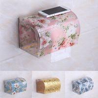 Wholesale Roll Tissue Dispenser - Wholesale- Modern Acrylic Tissue Box, Creative Plastic Tissue Holder, Tissue Dispenser at Bathrooms TB008