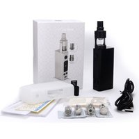 Wholesale Evic Batteries - 100% Quality Joyetech Evic VTwo Mini 75W BOX MOD With Cubis Pro Atomizer 4ML Tank Using LG HG2 Samsung 25R Battery