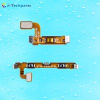 Wholesale Galaxy Volume Button - 100% New Original Power Button Flex Cable and Volume Flex Cable With Metal Plate for Samsung Galaxy S7 Edge All Versions ,Free Shipping