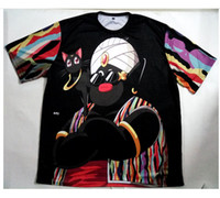 Wholesale Sublimation Clothes - Real USA Size custom made Mister Po x Biggie 3D Sublimation print T-Shirt unisex clothing