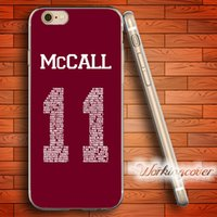 Wholesale Teen Wolf Iphone Case - Capa Teen Wolf McCall Soft Clear TPU Case for iPhone 6 6S 7 Plus 5S SE 5 5C 4S 4 Case Silicone Cover.