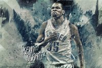 Kevin Durant Basketball Star Fabric Poster 36