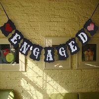 sinal de favor do partido venda por atacado-Atacado- Cotill Board Decoração Do Casamento Do Vintage + Fita Sinal Photo Booth Adereços Casamento Decoração de Casamento Favor de Partido