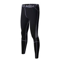 Wholesale Men Sports Tights - new fashion man tight trousers sports trousers size S,M,L,XL