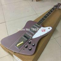 Wholesale Guitar Thunderbird - Firebird Thunderbird VII Metallic Purple Electric Guitar 3 Mini Humbuckers Tremolo Bridge (Long Verson Maestro Vibrola) Ebony Fingerboard