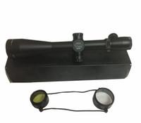 aydınlatılmış taktik kapsam toptan satış-LP Stil 4.5-14X50 Ayarlanabilir Kırmızı Yeşil Nokta Işıklı Taktik Tüfek Reticle Sight SZ0011 Avcılık için Kapsam