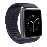 Wholesale Fashion GT08 smart watch Clock Sync Notifier with Sim Bluetooth Smartwatch for Apple IOS huawei Samsung Android Phone