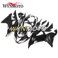 weiße kawasaki ninja plastics großhandel-Verkleidungen für Kawasaki ZX-6R 636 2013 2016 2014 2015 Einspritzung ABS Kunststoff Motorrad Hauben ZX6R 13 16 14 15 Glanz Weiß Schwarz Bodywork Kits