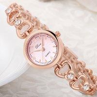 Wholesale Ladies Bracelet Watch Fashionable - Ladies Bracelet Watch Ladies Bracelet Wristwatch Fashionable reloj Rhinestone decoration Watch Free shipping