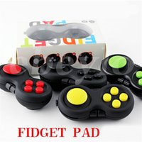 Wholesale Sport Hands Free - 6 Colors Fidget Pad Second Generation Fidget Cube Fidget Joysticks hand shank Adults Kids Novelty Anxiety Decompression Toys free shipping