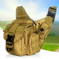 Wholesale Tactical Saddle Bags - Waist Pack Multi Purpose Unisex Saddle Oblique Cross Fishing Bags Outdoor Leisure Sports Tactical Shoulder Bag Travel Pouch 35yz F