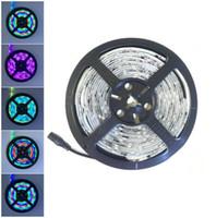 Wholesale Dream Color Strips - 5M Roll WS2811 Dream Magic Color IP67 Waterproof 5050 LED Strip DC12V 30Led M (No need Controller) Auto Change Color Flexible Light