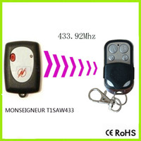 Wholesale Garage Door Remote Duplicator - Wholesale- MONSEIGNEUR T1SAW433 Garage Door Gate Remote Control Replacement Duplicator