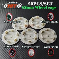 Wholesale Wholesale Price Rims - Best Price 20pcs 62MM ABS Aluminum Wheel Rim Label Car Wheel Center Emblem Cover Auto Wheel hub Cap Badge For Discovery Freelander Defender