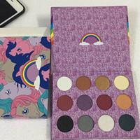 Wholesale colourpop cosmetics resale online - Colourpop rainbow color eyeshadow palettle my little Beauty Fantasy Eyeshadow colourpop eyes makeup cosmetics Fast shipping