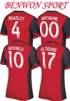 Wholesale Sportswears Men - Benwon - 2017 2018 Toronto FC home red soccer jerseys 17 18 ALTIDORE GIOVINCO football t shirts mens 3A+++ top thai quality sportswears