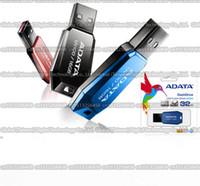 Wholesale Adata 16gb Usb Flash Drive - 16GB 32GB 64GB high quality ADATA V100 USB flash drive pendrive memory stick USB Storage disk