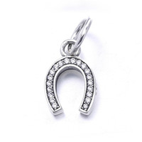 Wholesale Dangle Peace - Symbol of Peace Pendants Beads Authentic 925 Sterling Silver Jewelry Clear Cz Dangle Charm Symbol Beads Fits DIY Brand Bracelets Accessories