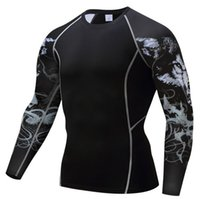 Wholesale state clothing for sale - Europe and the United States sports quick drying body clothing men s T shirt basketball running fitness clothes stretch training compression