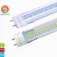 Tubo 3528 Smd Led Baratos-Stock En Estados Unidos + 4ft Led Tubos T8 luces individuales / dobles laterales 18W 22W 25W 28W llevó tubos ligeros de reemplazo Tubos regulares AC85-265V