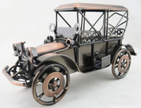 Wholesale Metal European Classical Automobile Car Model Handmade Arts and Crafts For Gift and Home Decoration size x8 x14cm