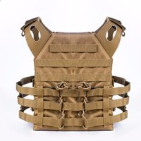Wholesale black tactical vests - Free Shipping Tactical Plate Carrier Ammo Chest Rig JPC Vest Airsoftsports Paintball Gear Body Armor