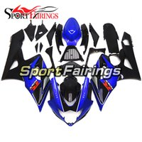 Wholesale Motorcycle Fairings For Suzuki - Injection Fairings For Suzuki GSXR1000 K5 05 06 Year 2005 2006 ABS Motorcycle Fairing Kit Bodywork Motorbike Bodywork Cowling Black Blue New