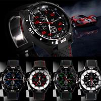 Wholesale grand gt - Wholesale luxury Casual Quartz watch mens military Watches GT Grand Tour Wristwatch Silicone Bracelet Clock Fashion Hours Dress Watch