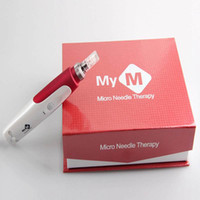 Wholesale Derma Medical - 10pcs lot MYM Electric Derma Stamp Dermapen Micro Needle Roller Facial Beauty Equipment,Micro Needle Therapy System Dermapen Medical.