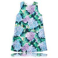 Wholesale Casual Dresses For Winter - Princess Dress 2017 Designer Vestido Flower Girl Dress Kids Clothing Printed Robe Fille Costume for Kids Clothes
