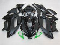 Wholesale Kawasaki Ninja Zx6r Gray - 3 gift New Hot ABS Motorcycle Fairing kits 100% Fit For Kawasaki Ninja ZX-6R 2007 2008 6r 07 08 ZX-6R Black