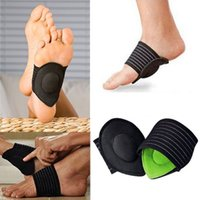 Wholesale Foot Pain Products - 1Pair New Strutz Cushioned Arch Foot Support Decrease Plantar Fasciitis Pain For Foot Care Products
