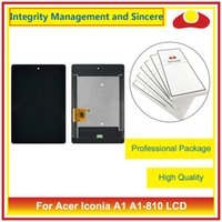 High Quailty pour Acer Iconia one 7 B1-750 B1 750 A1-810 W4 820 W4-820 Full Lcd Display Touch Screen Digitizer Capteur Ensemble Complate