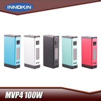 Wholesale Power Supply Temperature - Authentic Innokin MVP4 100W Box Mod Built In 4500mAh Lipo Battery With Aethon Temperature Control Chipset MVP 4.0 Power Supply Device