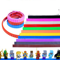 Wholesale Nimuno Loops Block Tape Dots Building Blocks Rolls Bricks Tape Figures Toys Bricks Base Plate Tape KKA2204