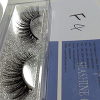 Wholesale Eyelash Silk - New arrival 100% really 3D false eyelash lovely silk eye lashes for beautiful Super Soft Lashes Private Label Eyela