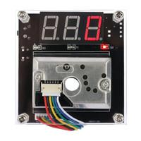 Wholesale Optical Instruments - Wholesale- PM2.5 Air Quality Detector Module Optical Dust Sensor LED Digital Air Analyzer Measuring Instrument Compensation Function