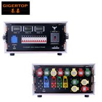 ingrosso interruttore lcd-Display Gigertop Advanced 5U FLIGHTcase Power Supply LCD Power Display da lavoro con interruttore principale 110V / 220V