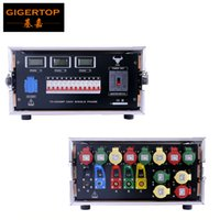 Wholesale Advance Switch - Gigertop Advanced 5U FLightcase Power Supply Distribution Cabinet LCD Power Working Display with Master Switch 110V 220V