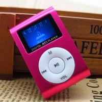 музыкальная песня mp3 оптовых-Оптовая продажа-SZ ЖК-экран Mp3-плеер 5 цветов черный красный зеленый синий серебряный красочные цифровой Mp3 - плеер для отдыха стерео песни