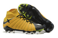 Wholesale Premier Leather - Youth Hypervenom Phantom III Dynamic Fit FG Soccer Cleats Synthetic Plastic Men Football Boots For Premier League Soccer Games