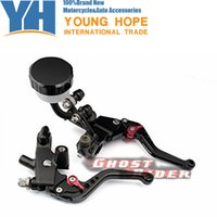 "Wholesale Yamaha Motorcycle Brake Parts - Motorcycle Parts Universal CNC Brake & Clutch Master Cylinder Levers Kit 7 8""(22mm) Aluminum Fit fits for Yamaha YZF R6 1999-200"